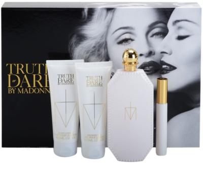 Madonna Truth or Dare coffret presente