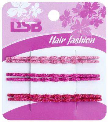 Magnum Hair Fashion klasické barevné pinety do vlasů se třpytkami