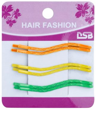 Magnum Hair Fashion horquillas de colores onduladas para el cabello