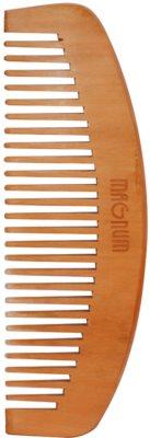 Magnum Natural peine de pelo de madera de peral