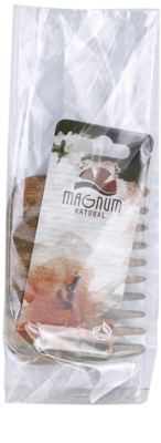 Magnum Natural гребен от гуаяково дърво - афро стил 1
