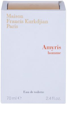 Maison Francis Kurkdjian Amyris Homme eau de toilette férfiaknak 4