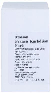 Maison Francis Kurkdjian Amyris Homme toaletní voda tester pro muže 2
