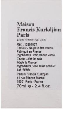 Maison Francis Kurkdjian APOM Pour Femme parfémovaná voda tester pro ženy 2