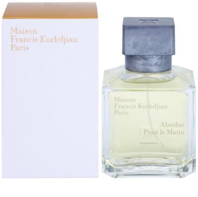 Maison Francis Kurkdjian Absolue Pour le Matin eau de parfum unisex