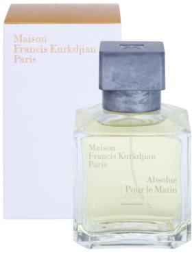 Maison Francis Kurkdjian Absolue Pour le Matin eau de parfum unisex 1