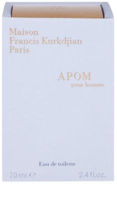 Maison Francis Kurkdjian APOM pour Homme Eau de Toilette para homens 4