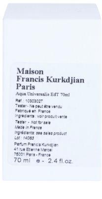 Maison Francis Kurkdjian Aqua Universalis eau de toilette teszter unisex 2