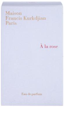 Maison Francis Kurkdjian A la Rose Eau de Parfum für Damen 4
