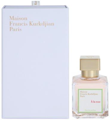 Maison Francis Kurkdjian A la Rose Eau de Parfum para mulheres