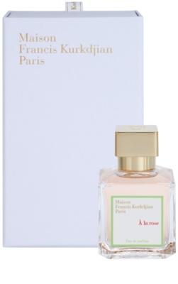 Maison Francis Kurkdjian A la Rose Eau de Parfum für Damen 1