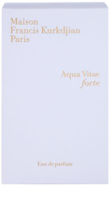 Maison Francis Kurkdjian Aqua Vitae Forte Eau de Parfum unissexo 4