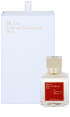 Maison Francis Kurkdjian Baccarat Rouge 540 parfumska voda uniseks 1