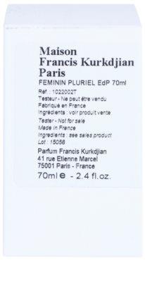 Maison Francis Kurkdjian Féminin Pluriel eau de parfum teszter nőknek 2
