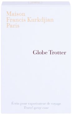 Maison Francis Kurkdjian Globe Trotter metalowe etui unisex   Zinc Edition 5
