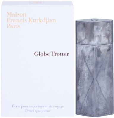 Maison Francis Kurkdjian Globe Trotter Edelstahl Etui unisex   Zinc Edition