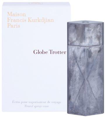 Maison Francis Kurkdjian Globe Trotter Edelstahl Etui unisex   Zinc Edition 1