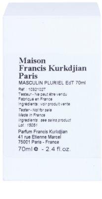 Maison Francis Kurkdjian Masculin Pluriel toaletní voda tester pro muže 2