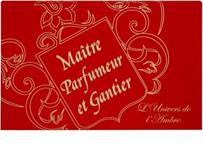 Maitre Parfumeur et Gantier Ambre Doré ajándékszett 2