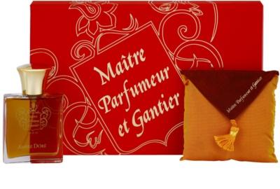 Maitre Parfumeur et Gantier Ambre Doré coffret presente