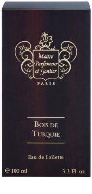 Maitre Parfumeur et Gantier Bois de Turquie Eau de Toilette unissexo 4