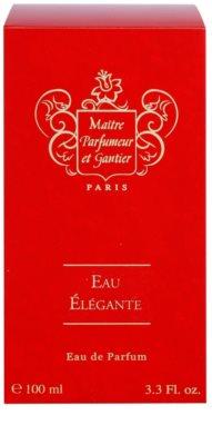 Maitre Parfumeur et Gantier Eau Élégante Eau de Parfum para mulheres 4