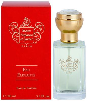 Maitre Parfumeur et Gantier Eau Élégante Eau de Parfum para mulheres