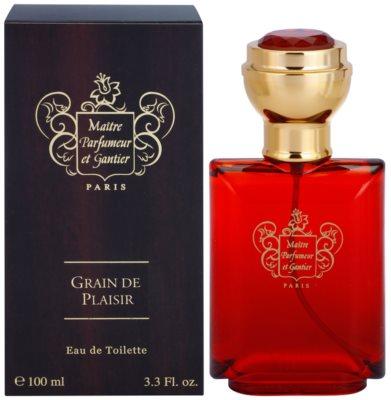 Maitre Parfumeur et Gantier Grain de Plaisir Eau de Toilette pentru barbati