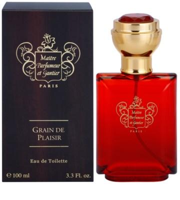 Maitre Parfumeur et Gantier Grain de Plaisir toaletní voda pro muže