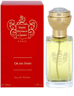 Maitre Parfumeur et Gantier Or Des Indes Eau de Parfum para mulheres