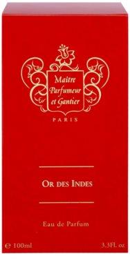 Maitre Parfumeur et Gantier Or Des Indes eau de parfum para mujer 4