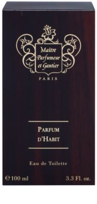 Maitre Parfumeur et Gantier Parfum d´Habit toaletní voda pro muže 4