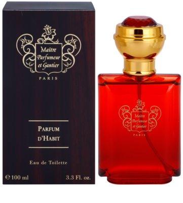 Maitre Parfumeur et Gantier Parfum d´Habit eau de toilette férfiaknak