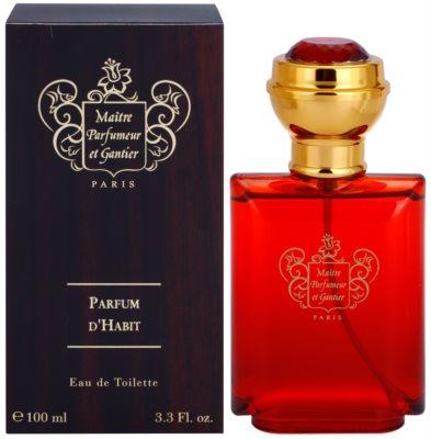 Maitre Parfumeur et Gantier Parfum d´Habit Eau de Toilette pentru barbati