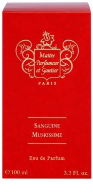 Maitre Parfumeur et Gantier Sanguine Muskissime parfémovaná voda unisex 4
