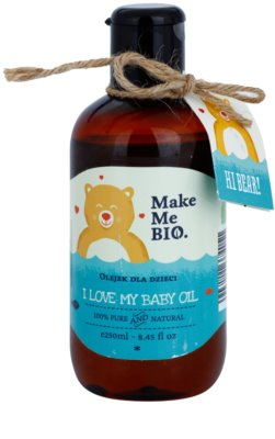 Make Me BIO Baby Care olje za telo za otroke od rojstva