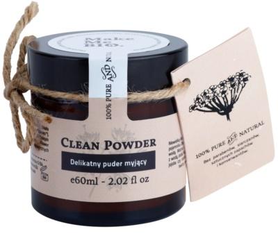 Make Me BIO Cleansing pó de limpeza suave para a pele sensível com tendência a aparecer com vermelhidão