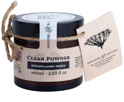 Make Me BIO Cleansing polvos limpiadores suaves para pieles sensibles con tendencia a las rojeces