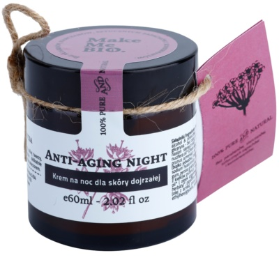 Make Me BIO Face Care Anti-aging éjszakai krém érett bőrre