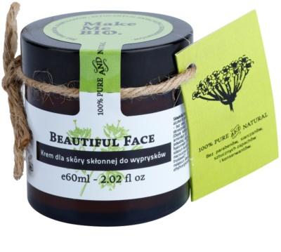 Make Me BIO Face Care Beautiful Face crema de día con textura ligera para pieles con imperfecciones