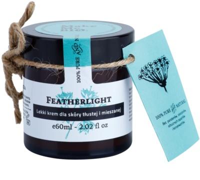Make Me BIO Face Care Featherlight creme leve para pele mista e oleosa
