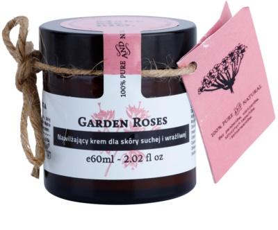 Make Me BIO Face Care Garden Roses crema hidratanta pentru piele uscata spre sensibila