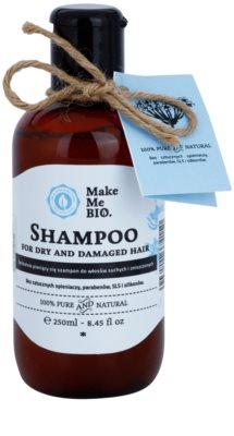 Make Me BIO Hair Care Shampoo für trockenes und beschädigtes Haar