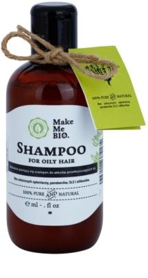 Make Me BIO Hair Care sampon zsíros hajra