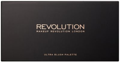 Makeup Revolution Ultra Blush All About Cream paleta tvářenek 1