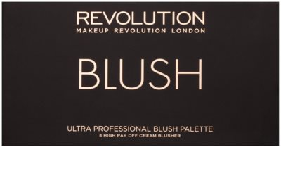 Makeup Revolution Ultra Blush All About Cream paleta tvářenek 2