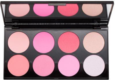 Makeup Revolution Ultra Blush All About Pink paleta fard de obraz
