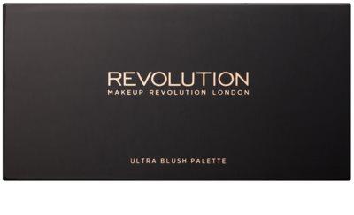 Makeup Revolution Ultra Blush All About Pink paleta róży 1