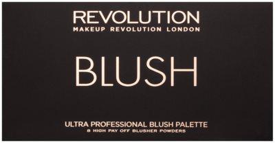 Makeup Revolution Ultra Blush All About Pink paleta róży 2