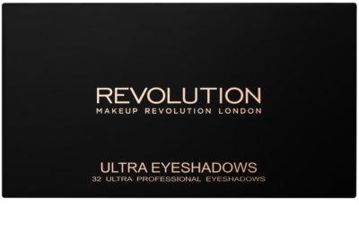Makeup Revolution Affirmation paleta farduri de ochi cu oglinda mica 1